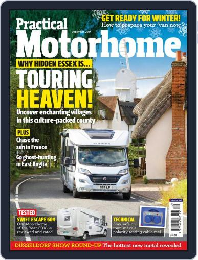 Practical Motorhome (Digital) December 1st, 2017 Issue Cover