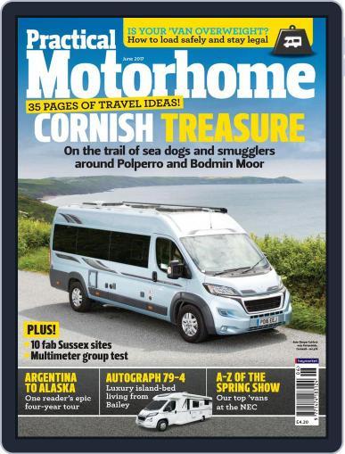Practical Motorhome June 1st, 2017 Digital Back Issue Cover