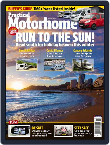 Practical Motorhome March 1st, 2017 Digital Back Issue Cover