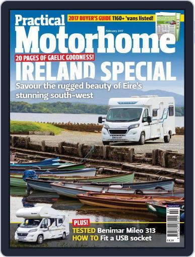 Practical Motorhome (Digital) February 1st, 2017 Issue Cover