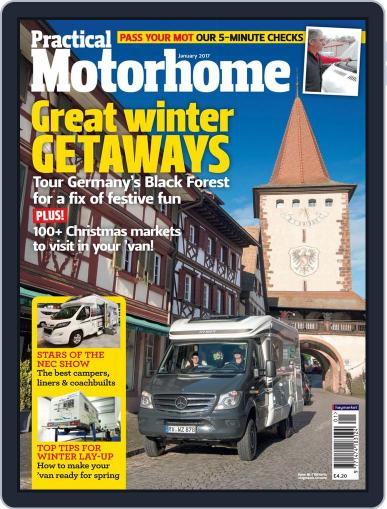 Practical Motorhome January 1st, 2017 Digital Back Issue Cover