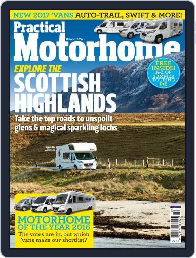 Practical Motorhome October 1st, 2016 Digital Back Issue Cover