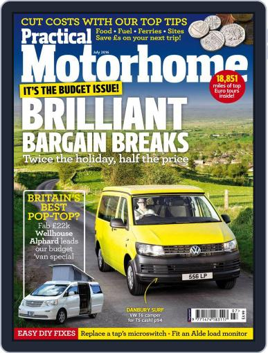 Practical Motorhome (Digital) May 5th, 2016 Issue Cover