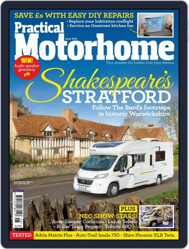 Practical Motorhome (Digital) April 6th, 2016 Issue Cover