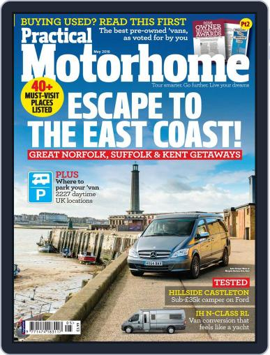 Practical Motorhome March 10th, 2016 Digital Back Issue Cover