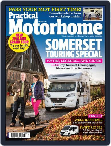 Practical Motorhome (Digital) March 1st, 2016 Issue Cover