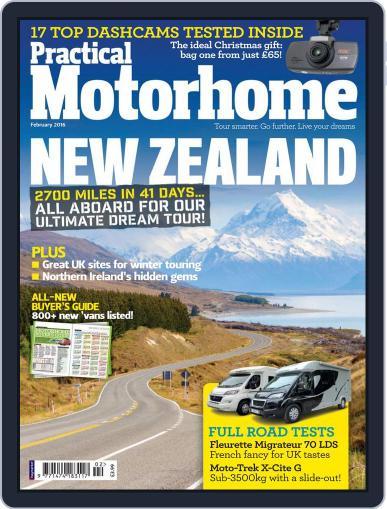 Practical Motorhome (Digital) February 1st, 2016 Issue Cover