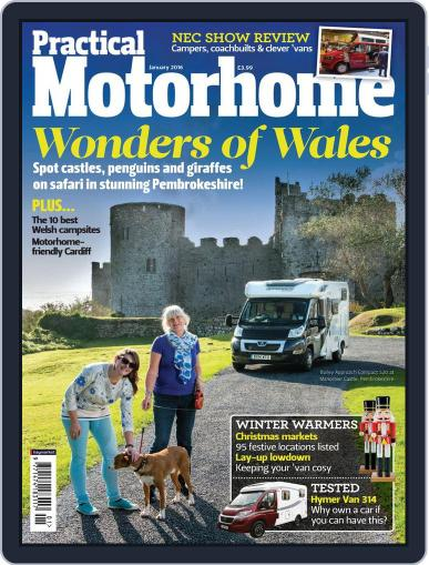 Practical Motorhome (Digital) January 1st, 2016 Issue Cover