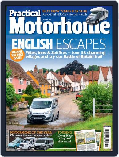 Practical Motorhome (Digital) October 1st, 2015 Issue Cover