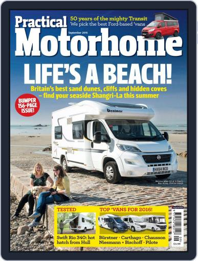 Practical Motorhome (Digital) September 1st, 2015 Issue Cover