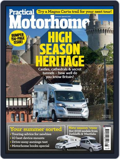 Practical Motorhome (Digital) June 26th, 2015 Issue Cover