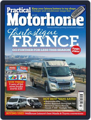 Practical Motorhome (Digital) May 6th, 2015 Issue Cover