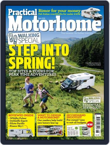 Practical Motorhome (Digital) April 8th, 2015 Issue Cover