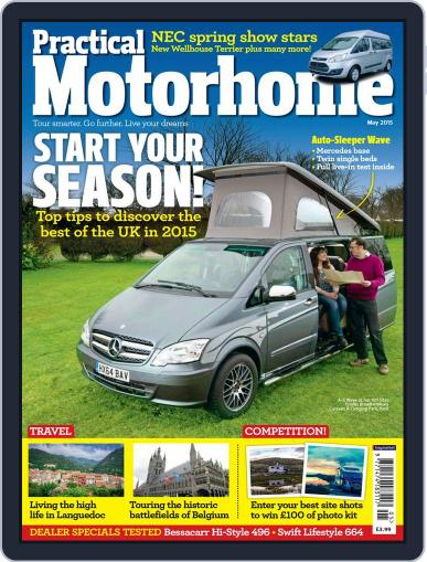 Practical Motorhome (Digital) March 11th, 2015 Issue Cover