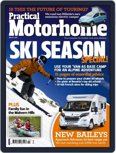 Practical Motorhome (Digital) January 14th, 2015 Issue Cover