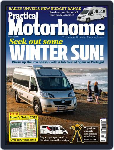 Practical Motorhome (Digital) December 17th, 2014 Issue Cover