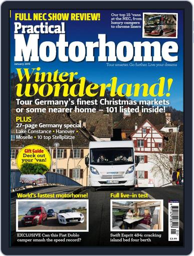 Practical Motorhome December 15th, 2014 Digital Back Issue Cover