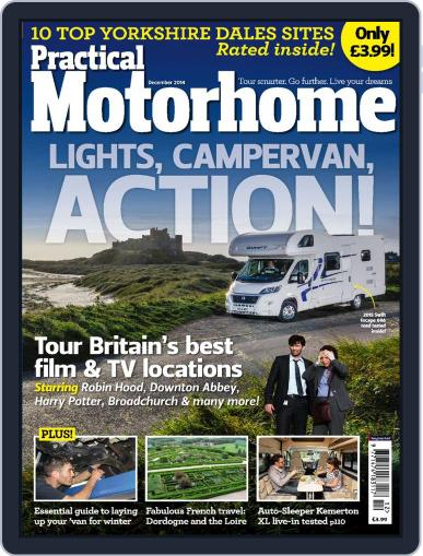 Practical Motorhome (Digital) October 22nd, 2014 Issue Cover