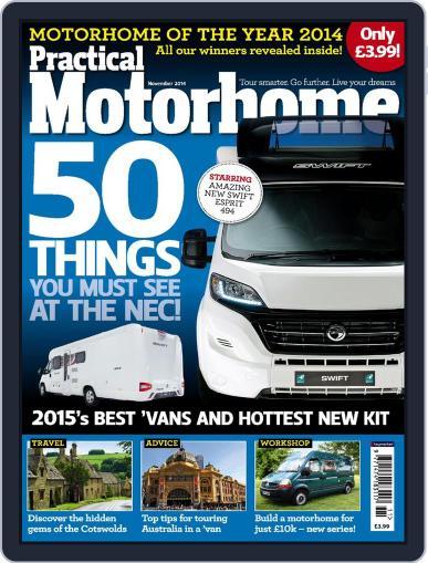Practical Motorhome September 26th, 2014 Digital Back Issue Cover