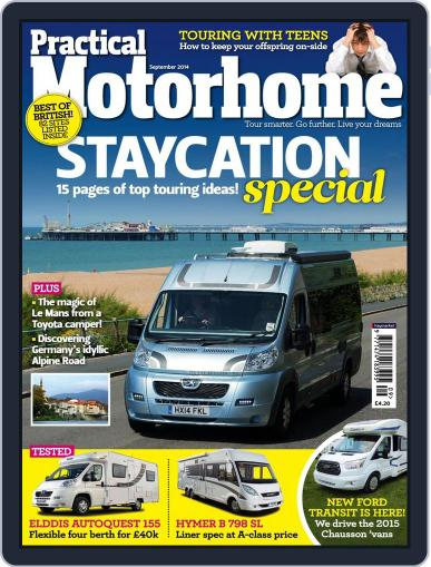 Practical Motorhome (Digital) July 30th, 2014 Issue Cover