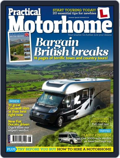 Practical Motorhome (Digital) June 27th, 2014 Issue Cover
