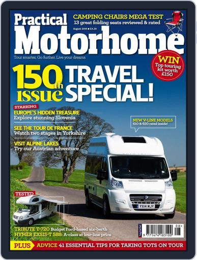 Practical Motorhome (Digital) May 28th, 2014 Issue Cover