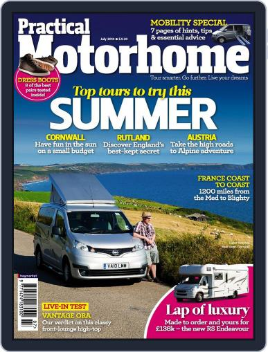 Practical Motorhome (Digital) May 19th, 2014 Issue Cover