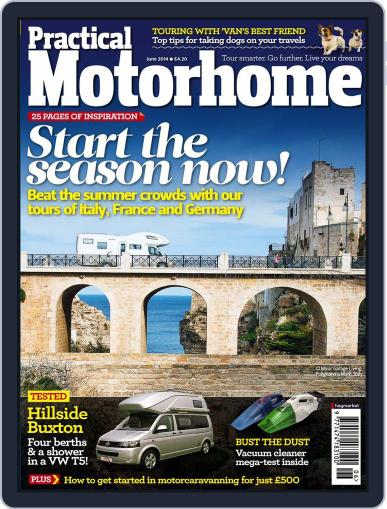 Practical Motorhome (Digital) April 9th, 2014 Issue Cover