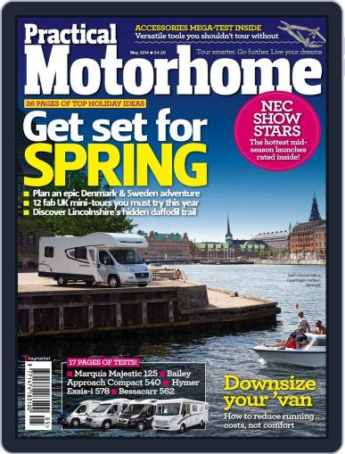 Practical Motorhome March 12th, 2014 Digital Back Issue Cover