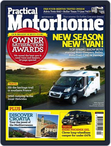Practical Motorhome (Digital) February 12th, 2014 Issue Cover