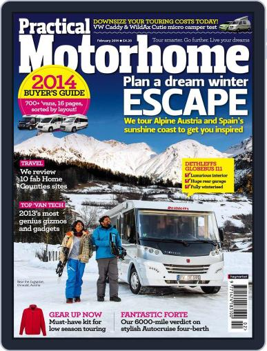 Practical Motorhome December 18th, 2013 Digital Back Issue Cover