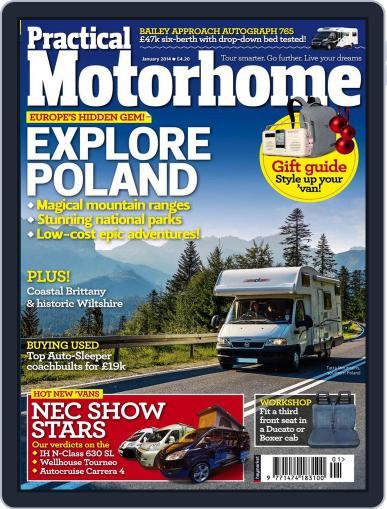 Practical Motorhome (Digital) November 20th, 2013 Issue Cover