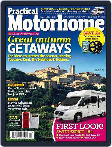 Practical Motorhome (Digital) October 23rd, 2013 Issue Cover
