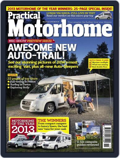 Practical Motorhome September 25th, 2013 Digital Back Issue Cover