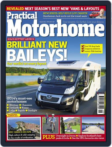 Practical Motorhome July 31st, 2013 Digital Back Issue Cover