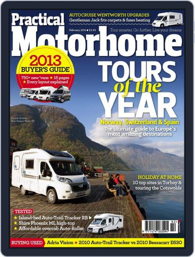 Practical Motorhome December 19th, 2012 Digital Back Issue Cover