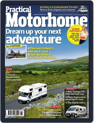 Practical Motorhome (Digital) November 21st, 2012 Issue Cover