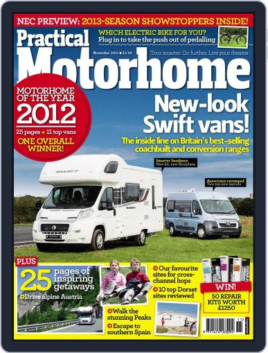Practical Motorhome (Digital) September 26th, 2012 Issue Cover