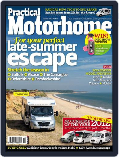 Practical Motorhome (Digital) September 4th, 2012 Issue Cover