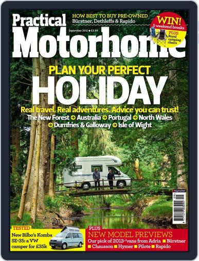 Practical Motorhome (Digital) August 1st, 2012 Issue Cover