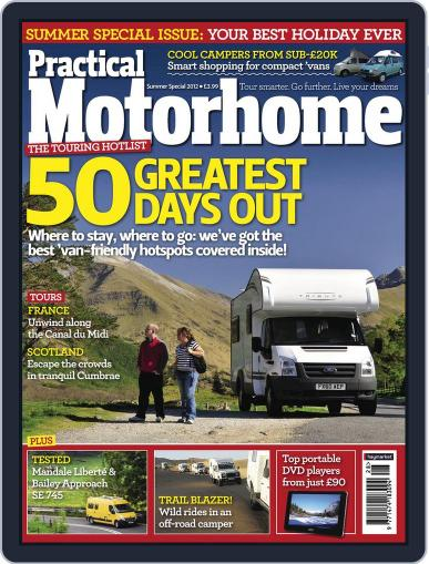 Practical Motorhome July 4th, 2012 Digital Back Issue Cover
