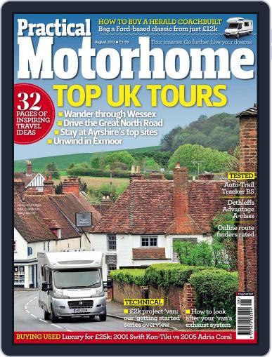 Practical Motorhome (Digital) June 6th, 2012 Issue Cover