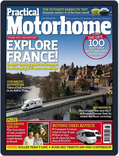 Practical Motorhome April 11th, 2012 Digital Back Issue Cover
