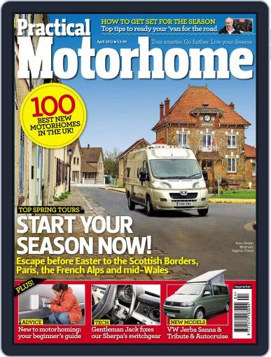 Practical Motorhome (Digital) February 16th, 2012 Issue Cover
