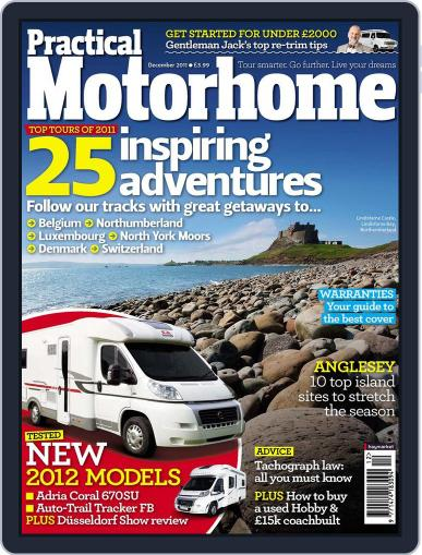 Practical Motorhome October 25th, 2011 Digital Back Issue Cover