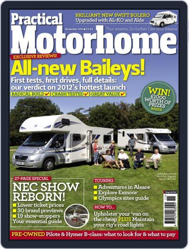 Practical Motorhome (Digital) September 27th, 2011 Issue Cover