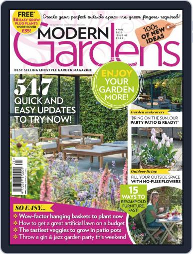 Modern Gardens April 1st, 2020 Digital Back Issue Cover