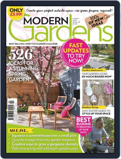 Modern Gardens March 1st, 2020 Digital Back Issue Cover