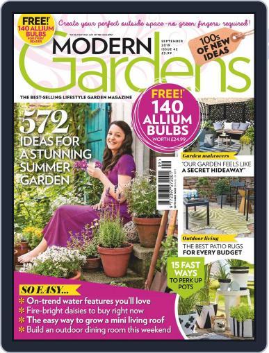 Modern Gardens September 1st, 2019 Digital Back Issue Cover
