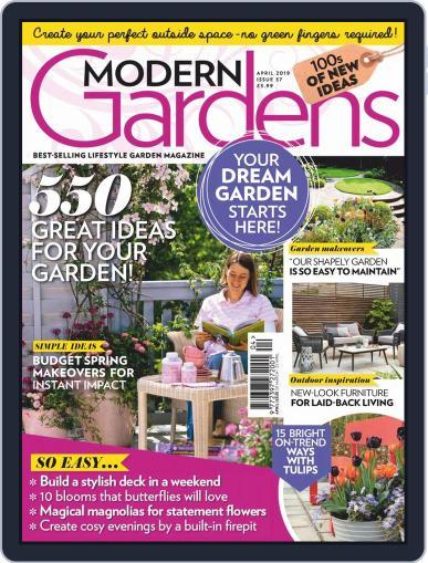 Modern Gardens April 1st, 2019 Digital Back Issue Cover